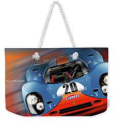 John Wyer's Gulf Porsche 917 Weekender Tote Bag