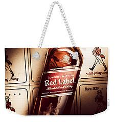 Johnnie Walker Red Label Blended Whisky  Weekender Tote Bag