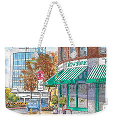 Johnnie's Pizzeria En Centrury City, California  Weekender Tote Bag