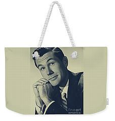 Johnny Carson, Vintage Entertainer Weekender Tote Bag