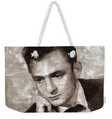 Johnny Cash By Mary Bassett Weekender Tote Bag
