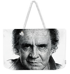 Johnny Cash Weekender Tote Bag