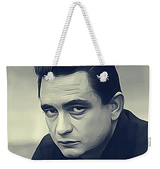 Johnny Cash, Music Legend Weekender Tote Bag