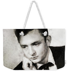 Johnny Cash, Singer/songwriter Weekender Tote Bag