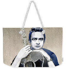 Johnny Cash Weekender Tote Bag