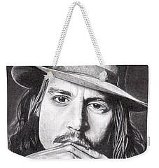 Johnny Depp Weekender Tote Bag