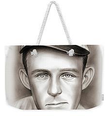 Johnny Evers Weekender Tote Bag by Greg Joens