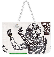 Johnny Manziel 10 Change The Play Weekender Tote Bag