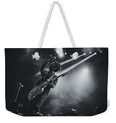 Johnny Marr Playing Live Weekender Tote Bag by Marco Oliveira