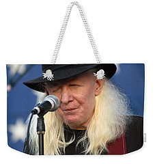 Johnny Winter Weekender Tote Bag