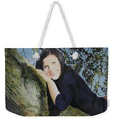 John's Grandaughter Weekender Tote Bag