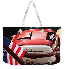 Johnson 18hp Weekender Tote Bag