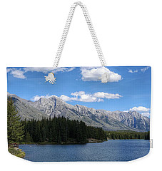 Johnson Lake, Alberta Weekender Tote Bag