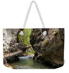 Johnston Canyon Weekender Tote Bag