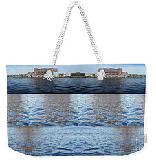 Weekender Tote Bag featuring the photograph Joiner Sea by Ana Mireles
