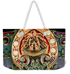 Weekender Tote Bag featuring the photograph Joker Of The Carnival by Christopher Holmes