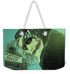 Joker Weekender Tote Bag by Scott Murphy
