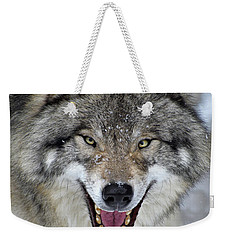 Weekender Tote Bag featuring the photograph Joker by Tony Beck