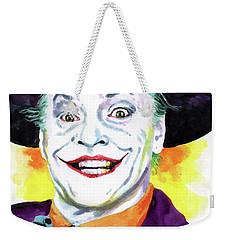 Jokernicholson Weekender Tote Bag by Ken Meyer jr