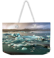 Jokulsarlon The Magnificent Glacier Lagoon, Iceland Weekender Tote Bag