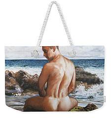 Jon At The Beach  Weekender Tote Bag