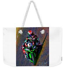 Jonathan Rea 2016 Kawasaki Weekender Tote Bag