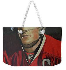 Jonathan Toews Portrait Weekender Tote Bag