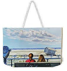 Jones Beach Boardwalk Weekender Tote Bag