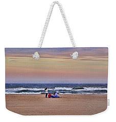 Jones Beach In January Weekender Tote Bag
