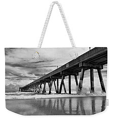 Johnnie Mercers Fishing Pier Weekender Tote Bag
