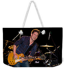 Jonny Lang Rocks His 1958 Les Paul Gibson Guitar Weekender Tote Bag
