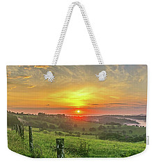 Weekender Tote Bag featuring the photograph Jono's Retreat by Az Jackson