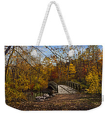 Jordan Park Bridge Weekender Tote Bag by Judy Johnson