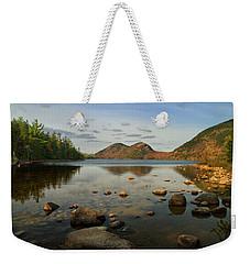 Jordan Pond 1 Weekender Tote Bag