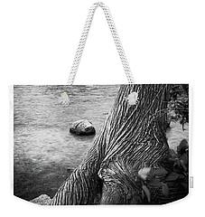 Jordan Pond Tree Weekender Tote Bag