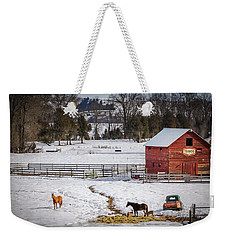 Weekender Tote Bag featuring the photograph Joseph Oregon by Cat Connor