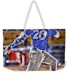 Josh Donaldson Toronto Blue Jays Weekender Tote Bag