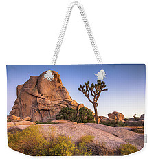 Joshua Tree And Intersection Rock Weekender Tote Bag