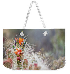 Joshua Tree Cactus And Flower Weekender Tote Bag