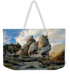 Joshua Tree Rock Formations At Dusk  Weekender Tote Bag
