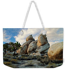 Joshua Tree Rock Formations At Dusk  Weekender Tote Bag by Glenn McCarthy Art and Photography