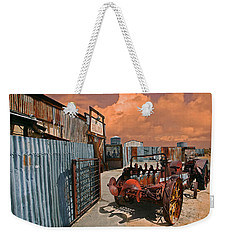 Weekender Tote Bag featuring the photograph Joshua Tree Saloon by Jeff Burgess