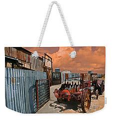Joshua Tree Saloon Weekender Tote Bag by Jeff Burgess