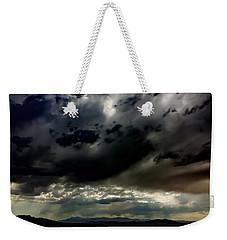 Joshua Tree Storm Weekender Tote Bag
