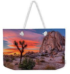 Joshua Tree Sunset Weekender Tote Bag
