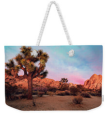 Joshua Tree With Dawn's Early Light Weekender Tote Bag