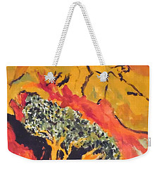 Joshua Trees In The Negev Weekender Tote Bag
