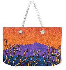Joshua Trees Weekender Tote Bag by Mayhem Mediums