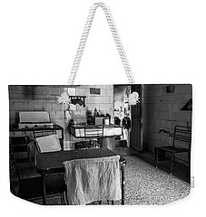 Weekender Tote Bag featuring the photograph Josie's Kitchen Havana Cuba by Joan Carroll