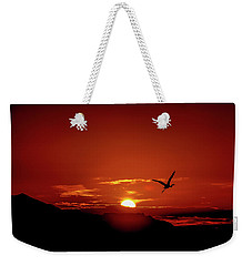 Journey Home Weekender Tote Bag